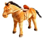Plyšový kůň 70 cm - možno sedět