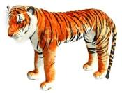 Plyšový tygr stojící 106 cm - možno sedět
