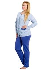 Dámské pyžamo nadměrné velikosti Wera