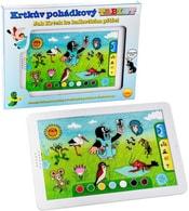 Dětský baby tablet naučný KRTEK dotykový na baterie pohádkový