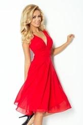 Červené dámské šaty 35-3 nm-sat35-3
