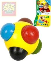 Kulička voskovka barevná baby kreslící 6 barev pro miminko