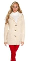 Pletený dámský kabátek in-sv1342be