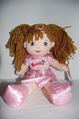 Hadrová panenka Natálka 40 cm