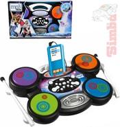 Bubny dětské elektronické kompatibilní s MP3 na baterie