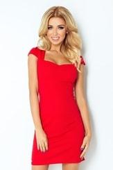 Dámské šaty červené 118-2 nm-sat118-2