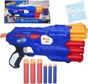 NERF N-Strike Elite Dual-Strike set pistole + 6 nábojů na 2 druhy šipek