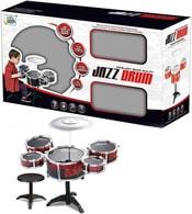 Bubny dětské jazzový set 5ks set se stoličkou a doplňky