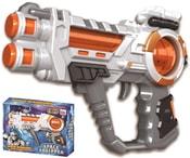 Pistole vesmírná plastová 23cm na baterie