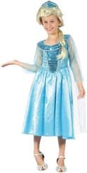 Kostým pro děti Ledová princezna vel. M (120-130cm) 5-9 let