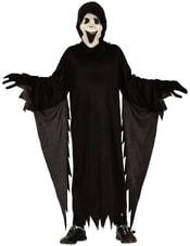 Kostým pro děti Démon s maskou vel. M (120-130cm) 5-9 let