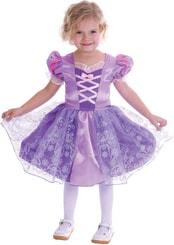 Kostým pro děti Princezna vel. XS (92-104cm) 3-4 roky