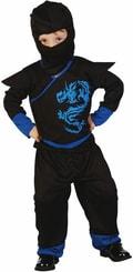 Karnevalový kostým Ninja vel. XS (92-104cm) 3-4 roky