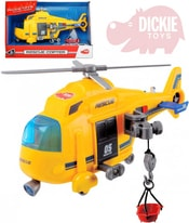 Vrtulník záchranářský 18cm ambulance funkční naviják