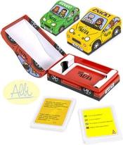 Hry do auta pro 1 hráče Značky / Kvízy / Bingo 3 druhy