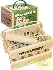 Hra kuželky venkovní dřevěné Molkky original