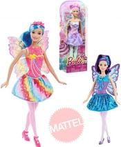 Barbie panenka víla s křídly set s doplňky 3 druhy