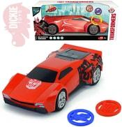 Transformers auto Sideswipe střílející 20cm na baterie Světlo Zvuk
