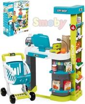Supermarket City Shop sada obchod set 41ks na baterie plast Světlo Zvuk