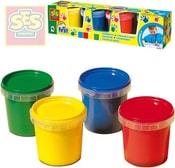 ¨Baby moje první barvy prstové set 4 tuby 150ml smývatelné