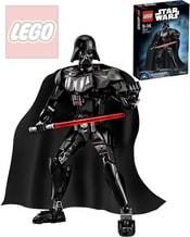 STAR WARS Darth Vader figurka kloubová plastová STAVEBNICE 75111
