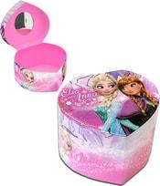 Šperkovnice dětská srdce Frozen (Ledové Království) Anna a Elsa