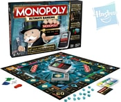 Hra Monopoly elektronické bankovnictví s platební kartou e-banking