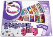 Korálky dětské v boxu set výroba šperků dětská bižuterie plastová