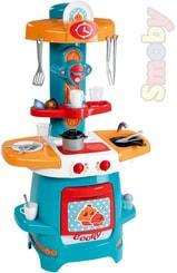 Kuchyňka dětská Cooky 65x80x30cm set s doplňky 18ks plast