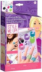 SMU Výroba prstýnků S kamínky Style Me Up sada