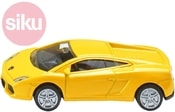 Model auto sportovní Lamborghini Gallardo žluté 1:55 kov