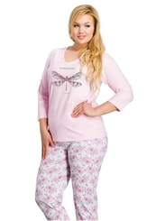 Dámské pyžamo nadměrné velikosti Felicja