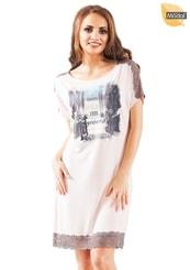 Dámská noční košile s nápisem Winter