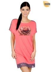 Dámská noční košile s obrázkem květu kaktusu