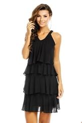 Dámské šaty s volánkem hs-sa539bl