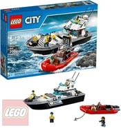 LEGO CITY Loď policejní hlídka 60129 STAVEBNICE