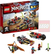 LEGO NINJAGO Honička nindža motorek 70600 STAVEBNICE