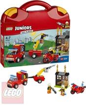 LEGO JUNIORS Kufřík hasičské hlídky 10740