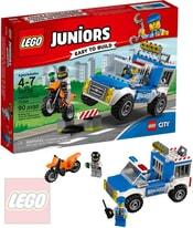 LEGO JUNIORS Honička s policejní dodávkou 10735