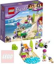 LEGO FRIENDS Mia a plážový skútr 41306