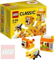 LEGO CLASSIC Oranžový kreativní box 10709