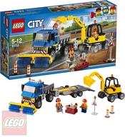 LEGO CITY Zametací vůz a bagr 60152