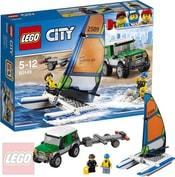 LEGO CITY Vůz 4x4 s katamaránem 60149
