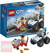 LEGO CITY Zatčení na čtyřkolce 60135