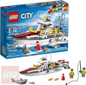LEGO CITY Rybářská loďka 60147