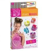 Prstýnky dětské Vytvoř si prstýnek Style Me Up sada