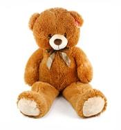 Plyšový medvěd 90 cm hnědý