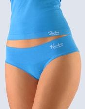 Dámské kalhotky francouzské, bezešvé, bokové, jednobarevné Bamboo Natural 04022P