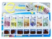 Peníze a mince pro hraní EURO