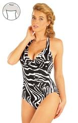 Jednodílné plavky s kosticemi. 93271